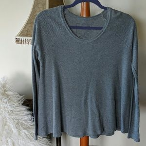 Free People thermal weave